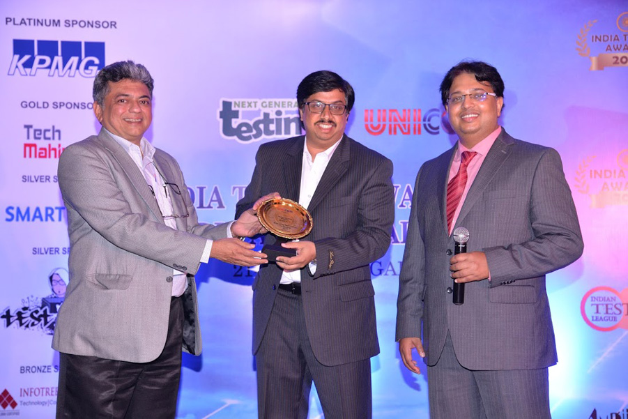 ClicTest (Infotree Solutions) is the Emerging Technology of the Year in Testing