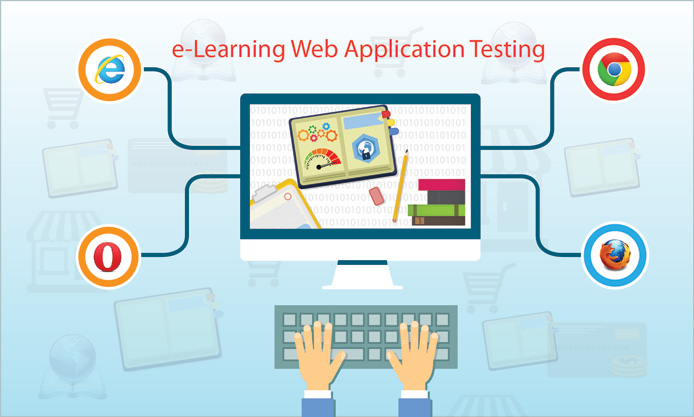 Testing of E-learning Web Applications
