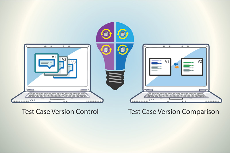 Version Control and Version Comparison for better Insights on changes to your Test Cases